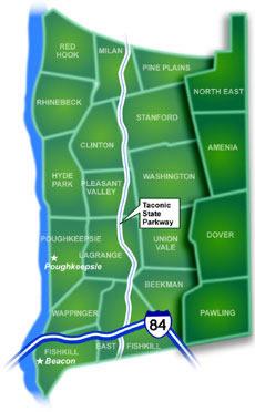 Harlem-Dutchess County Map
