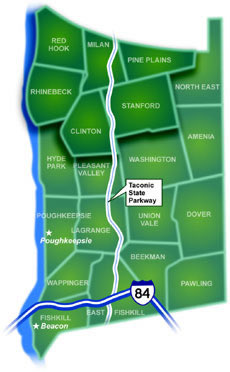 Northern Dutchess County Map